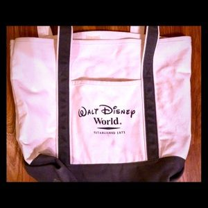Walt Disney World Canvas Tote Bag